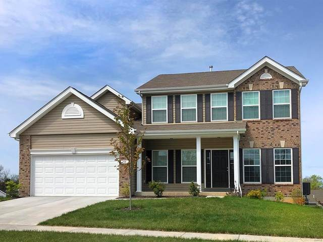 1 Hermitage II At Bridle Path, Ballwin, MO 63021 (#21052546) :: Clarity Street Realty