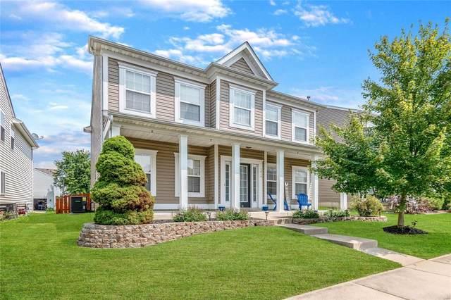 1014 Glengarry Drive, Wentzville, MO 63385 (#21052608) :: PalmerHouse Properties LLC
