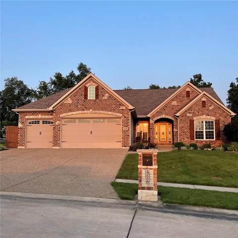 416 Cottage Grove, Wentzville, MO 63385 (#21052665) :: PalmerHouse Properties LLC