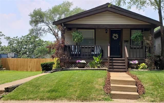 5513 Dewey Avenue, St Louis, MO 63116 (#21052829) :: Krista Hartmann Home Team
