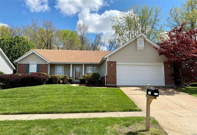 4218 Cherry Wood Trail, Florissant, MO 63034 (#21052847) :: Parson Realty Group