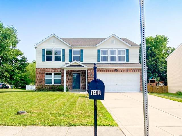 1400 Timberbrook Drive, Mascoutah, IL 62258 (#21052890) :: Parson Realty Group