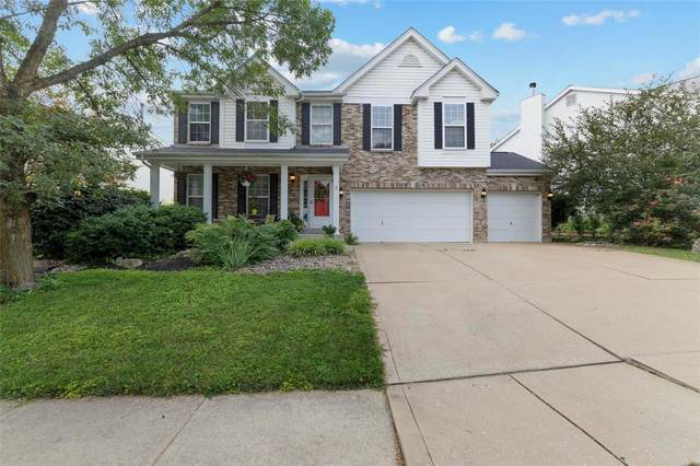 5858 Birchmont Place Drive, St Louis, MO 63129 (#21052948) :: Parson Realty Group