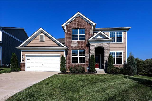 755 Savannah Crossing, Chesterfield, MO 63017 (#21053020) :: Parson Realty Group
