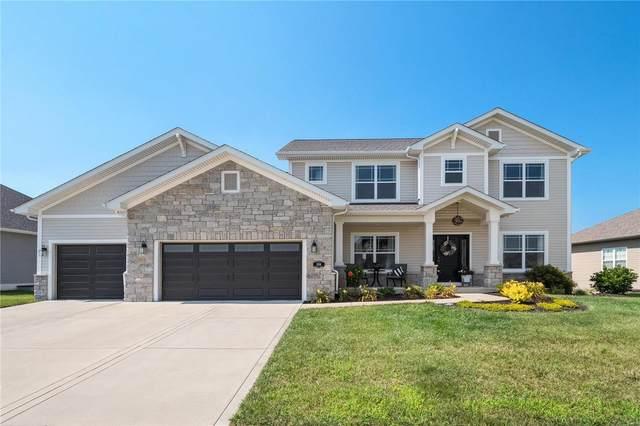 508 Flagstone Pass Drive, O'Fallon, IL 62269 (#21053054) :: Fusion Realty, LLC