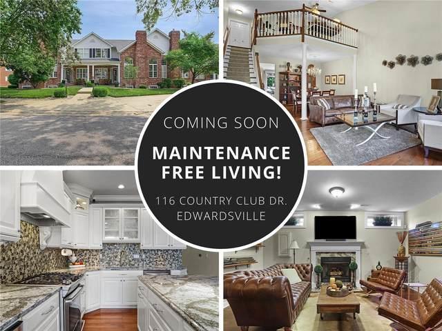 116 Country Club View, Edwardsville, IL 62025 (#21053136) :: Jenna Davis Homes LLC