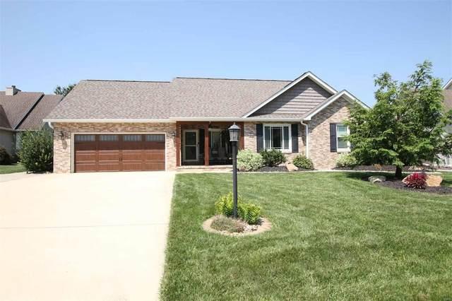 4804 Pear Tree Lane, Godfrey, IL 62035 (#21053207) :: Fusion Realty, LLC