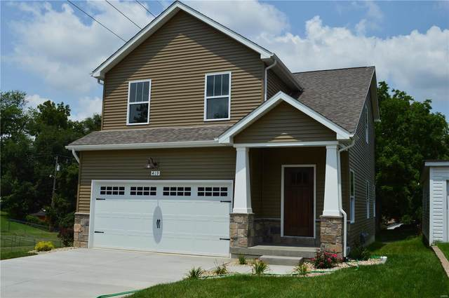 149 W Lincoln Street, Collinsville, IL 62234 (#21053306) :: St. Louis Finest Homes Realty Group