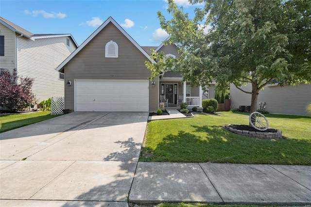 128 Brookfield Boulevard, Wentzville, MO 63385 (#21053365) :: Parson Realty Group