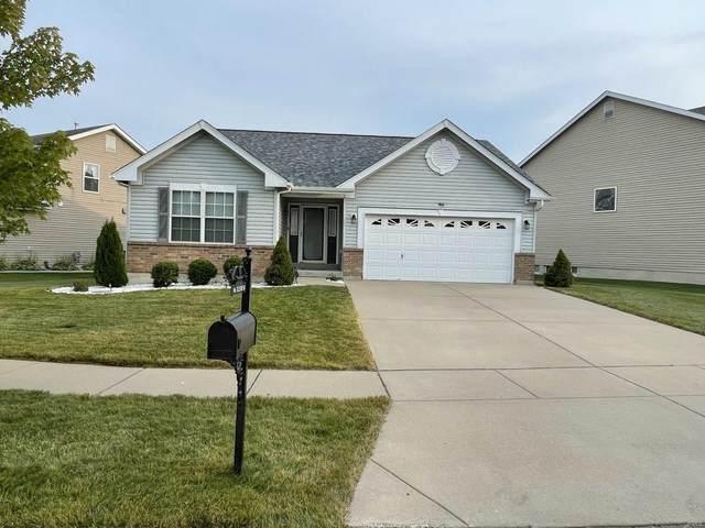 966 Tilestone Drive, O'Fallon, MO 63366 (#21053375) :: Kelly Hager Group | TdD Premier Real Estate