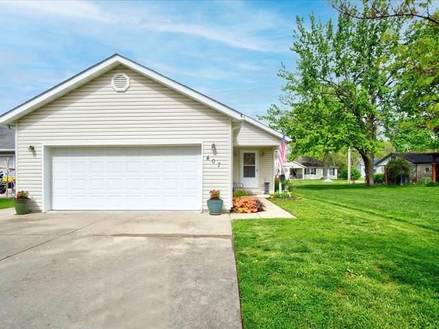407 N Monroe Street, Freeburg, IL 62243 (#21053411) :: Parson Realty Group