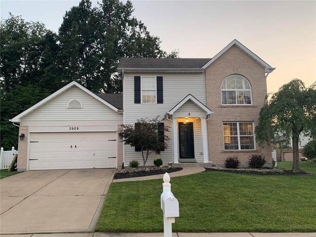 3929 White Rose Lane, Saint Charles, MO 63304 (#21053610) :: St. Louis Finest Homes Realty Group