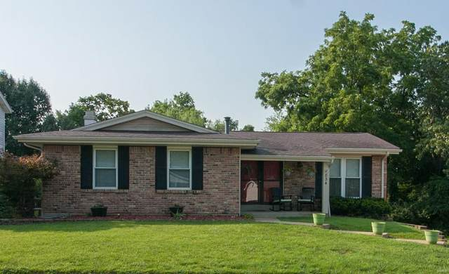 834 Forest Village, Ballwin, MO 63021 (#21053698) :: RE/MAX Vision