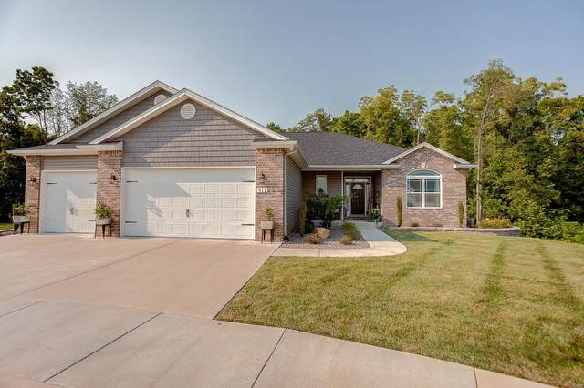 411 Downing Court, Shiloh, IL 62221 (#21053977) :: Innsbrook Properties