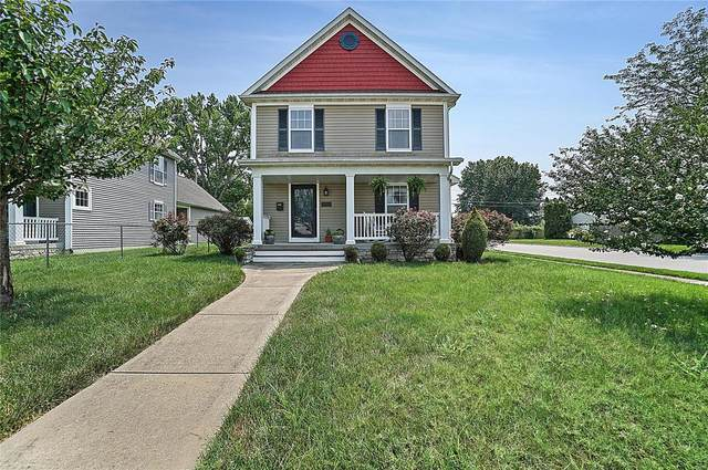 201 E 2nd Street, O'Fallon, IL 62269 (#21054219) :: The Becky O'Neill Power Home Selling Team