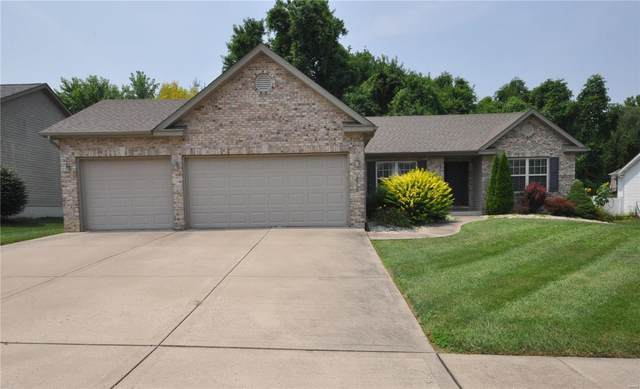 2523 Gecko Drive, Maryville, IL 62062 (#21054540) :: St. Louis Finest Homes Realty Group