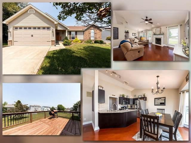 105 Fleur De Lis, Wentzville, MO 63385 (#21054829) :: St. Louis Finest Homes Realty Group