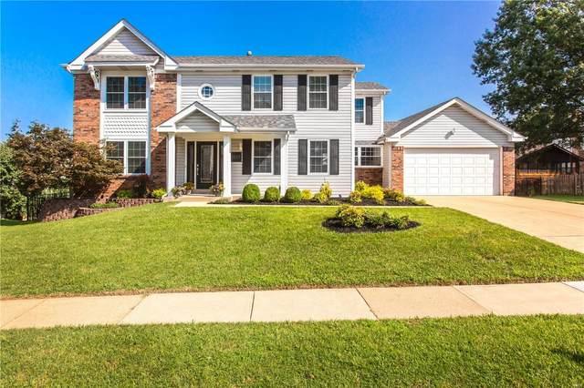 7557 Shadybridge, St Louis, MO 63129 (#21055295) :: Kelly Hager Group   TdD Premier Real Estate