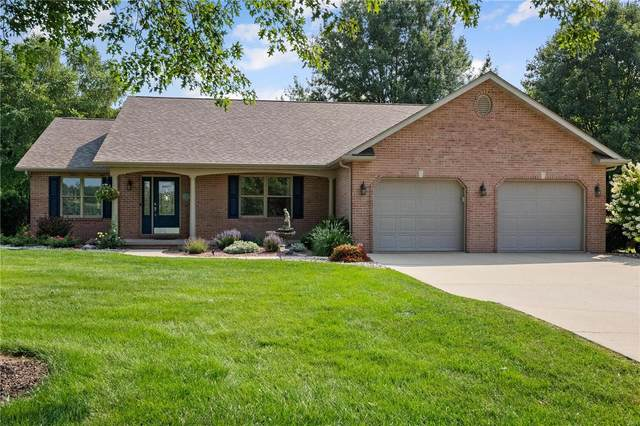 8415 E Mill Creek Road, Troy, IL 62294 (#21055397) :: Hartmann Realtors Inc.