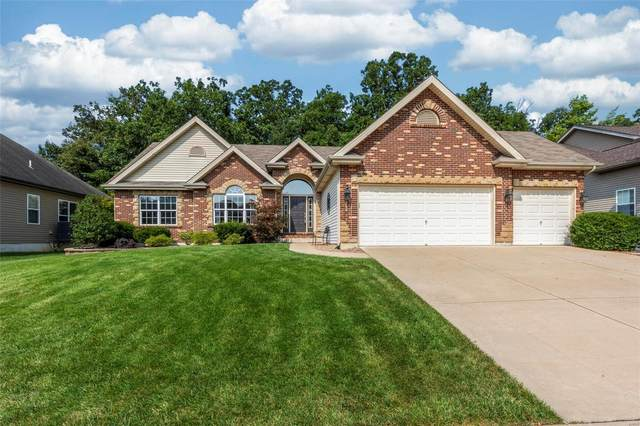 308 Highland Meadows Court, Wentzville, MO 63385 (#21055600) :: Terry Gannon | Re/Max Results