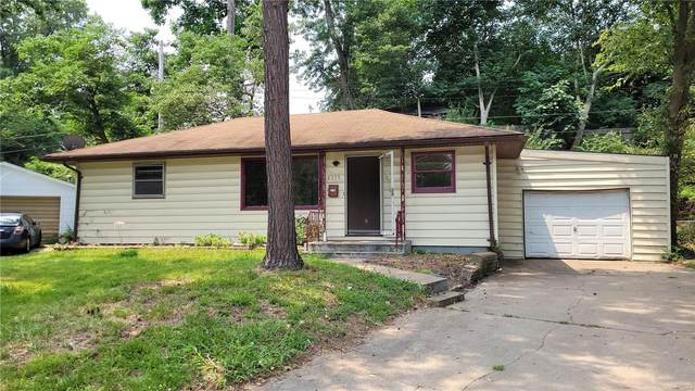 8555 Jenny Drive, St Louis, MO 63121 (#21055601) :: Terry Gannon | Re/Max Results