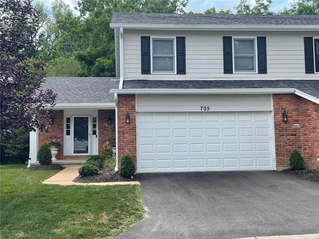 705 Turtle Cove, Ballwin, MO 63011 (#21056026) :: The Becky O'Neill Power Home Selling Team