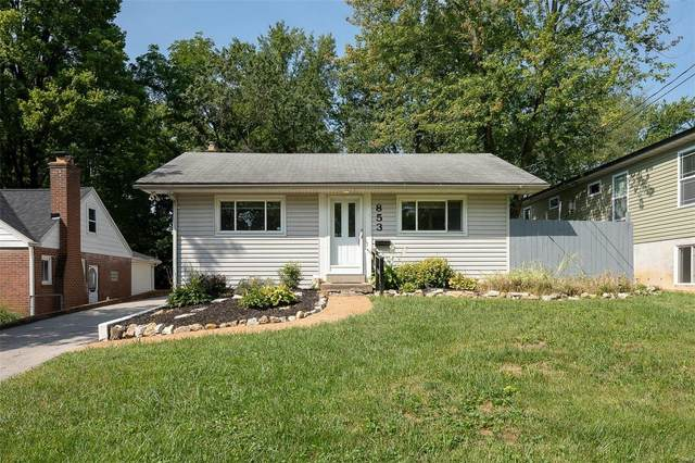 853 Liggett Avenue, St Louis, MO 63126 (#21057272) :: Parson Realty Group