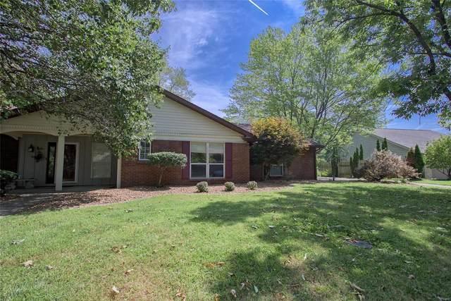 10 Ginger Lake Drive W, Glen Carbon, IL 62034 (#21057596) :: Parson Realty Group