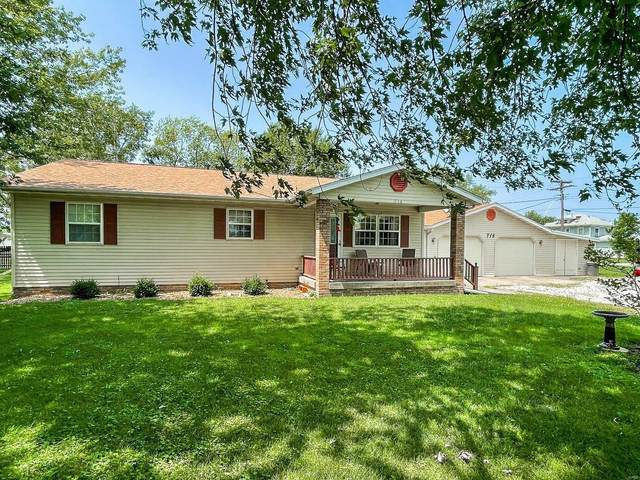 716 Springfield Road, GILLESPIE, IL 62033 (#21058015) :: Clarity Street Realty