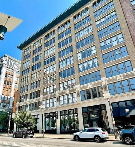1635 Washington Avenue #806, St Louis, MO 63103 (#21058734) :: Parson Realty Group