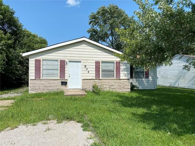 804 Saint Matthew, Centerville, IL 62206 (#21058766) :: Parson Realty Group