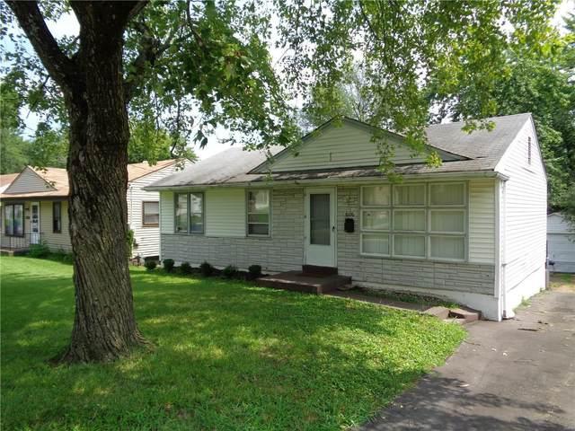 6106 Jackson Avenue, St Louis, MO 63134 (#21059768) :: Realty Executives, Fort Leonard Wood LLC