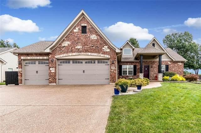 412 Cottage Grove Drive, Wentzville, MO 63385 (#21060088) :: Krista Hartmann Home Team