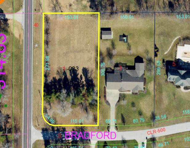 0 Bradford Lane, CARBONDALE, IL 62901 (#21061506) :: The Becky O'Neill Power Home Selling Team