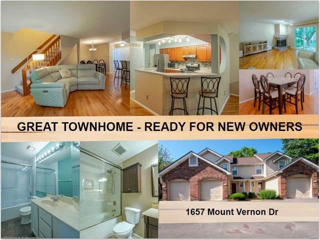1657 Mount Vernon Drive, Saint Charles, MO 63303 (#21061628) :: Jeremy Schneider Real Estate