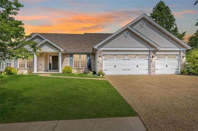 45 Creekside Drive, Saint Peters, MO 63376 (#21062856) :: Jenna Davis Homes LLC