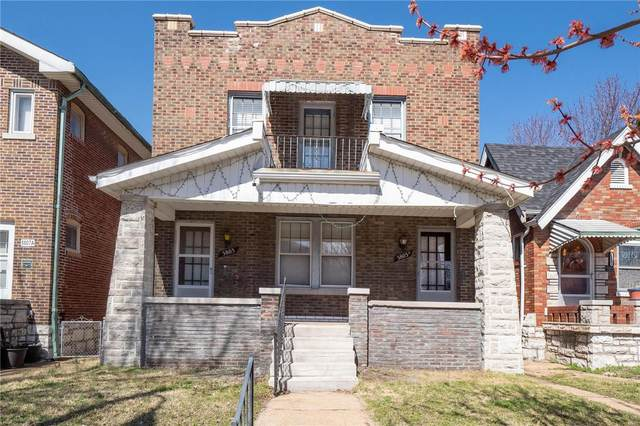 5803 Goener Avenue, St Louis, MO 63116 (#21062957) :: Parson Realty Group