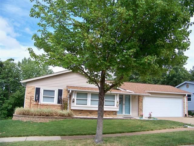 4715 Groveton Way, St Louis, MO 63128 (#21063147) :: Century 21 Advantage