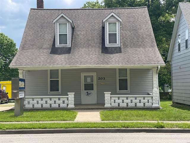 203 W Hanover Street, New Baden, IL 62265 (#21063514) :: Palmer House Realty LLC