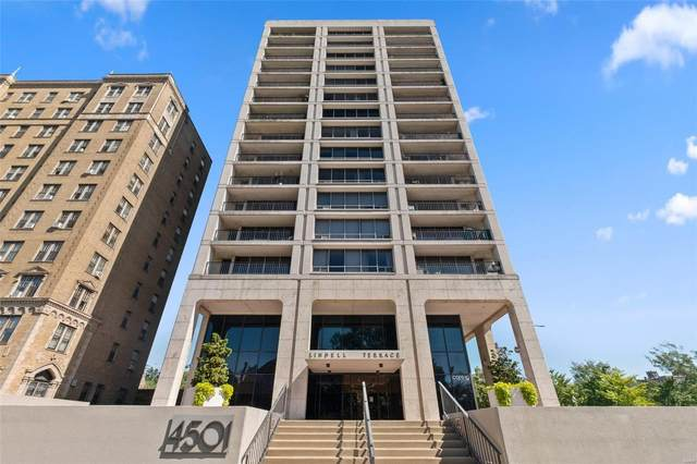 4501 Lindell Boulevard 3H, St Louis, MO 63108 (#21063782) :: Friend Real Estate