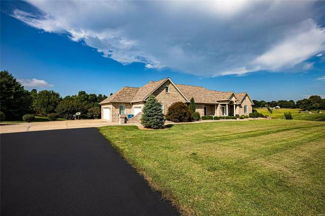 6405 State Route 162, Maryville, IL 62062 (#21063886) :: Blasingame Group   Keller Williams Marquee