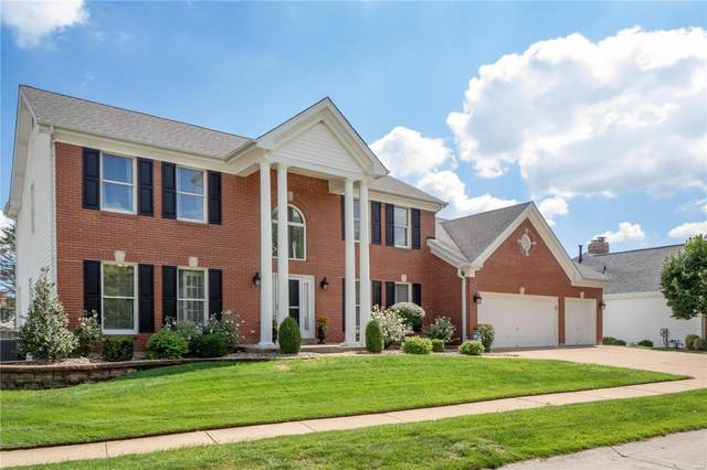 2224 Twin Estates Circle, Chesterfield, MO 63017 (#21064123) :: Clarity Street Realty