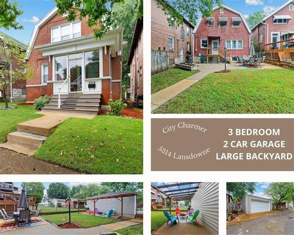 5314 Lansdowne Avenue, St Louis, MO 63109 (#21064157) :: Clarity Street Realty