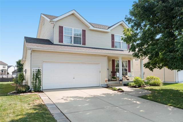 2817 Smokehouse Way, Belleville, IL 62221 (#21064200) :: Finest Homes Network