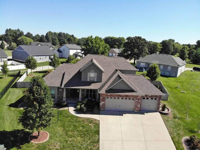 3846 Ember Court, Edwardsville, IL 62025 (#21064212) :: Mid Rivers Homes