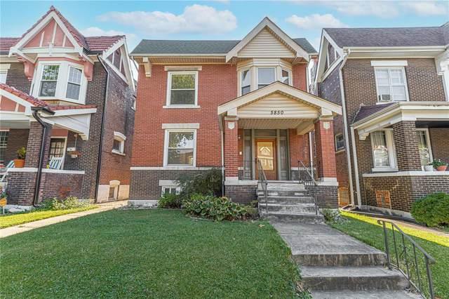 5850 De Giverville Avenue, St Louis, MO 63112 (#21064378) :: Matt Smith Real Estate Group
