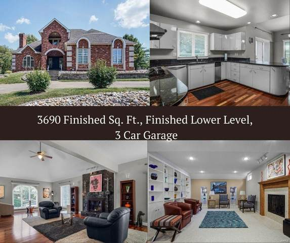 32 Country Club View, Edwardsville, IL 62025 (#21064717) :: Blasingame Group | Keller Williams Marquee
