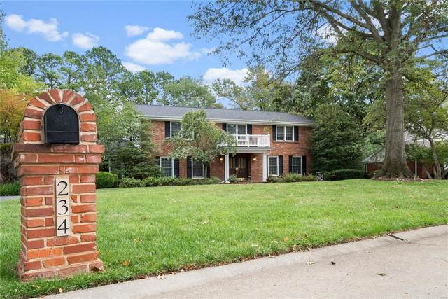 234 Brooktrail Court, Creve Coeur, MO 63141 (#21065809) :: Clarity Street Realty