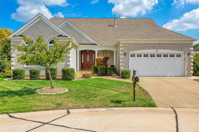 673 Falconcrest, Lake St Louis, MO 63367 (#21065814) :: Innsbrook Properties