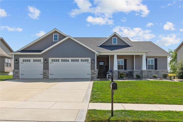 205 Mcclelland Drive, Troy, IL 62294 (#21065867) :: Clarity Street Realty